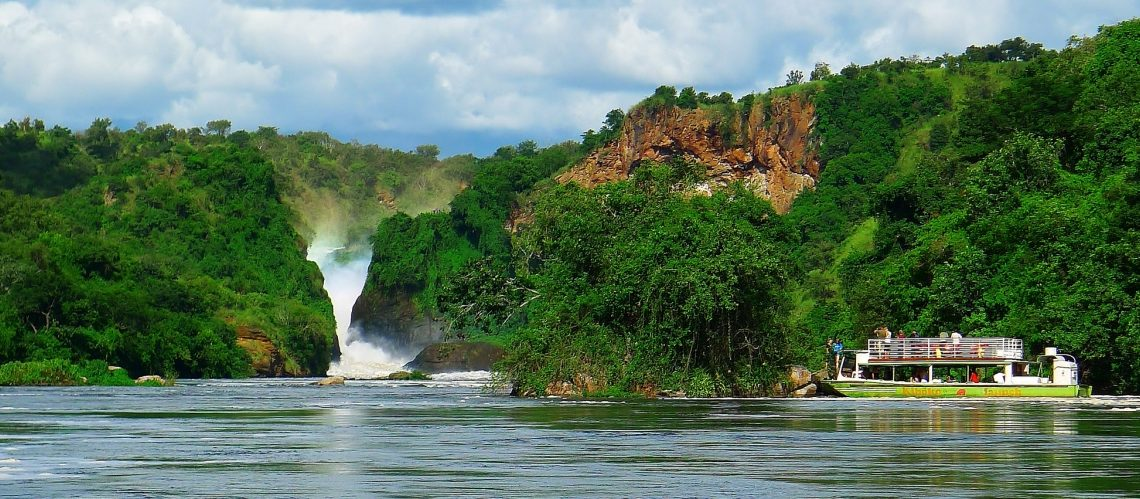 Boat Cruise in Murchison Falls National Park (World's Strongest falls) - Uganda most Popular/Visited National Park