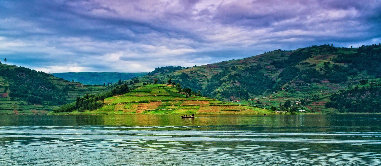 lake Bunyonyi - 14 Days Primates And Big Five Safari - The Best Long Uganda Wildlife Safari