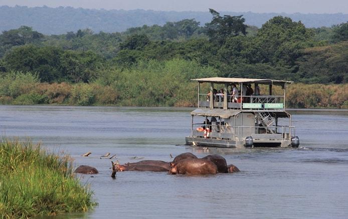 Boat Cruise on a 2 Days Murchison Falls Safari tour