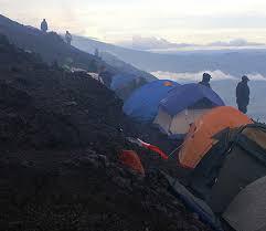 Nyiragongo volcano hike congo