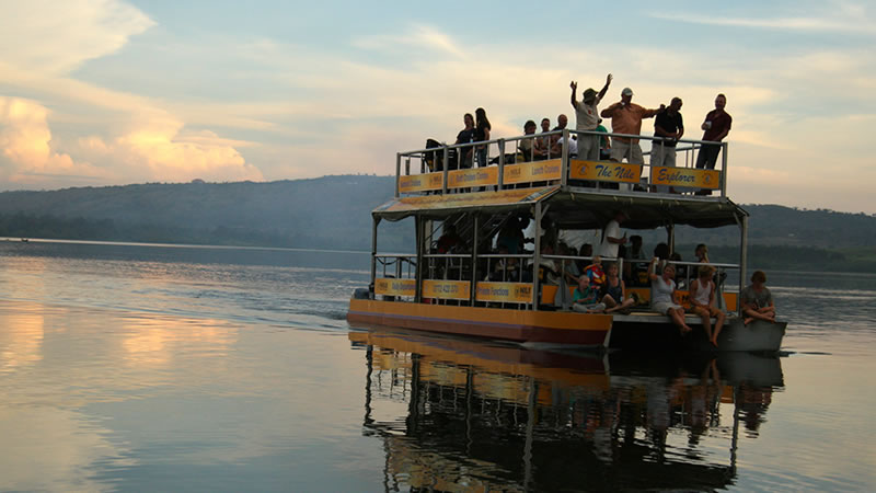 boat cruise to the source of the nile on a 2 Days Jinja tour