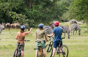Lake Mburo National Park Uganda Cycling Safari