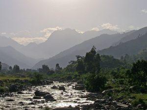 Rwenzori Mountains National Park view